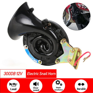 Horn 12v Super Loud Electric Snail Air Horn For Motorcycle Car Truck Boat
