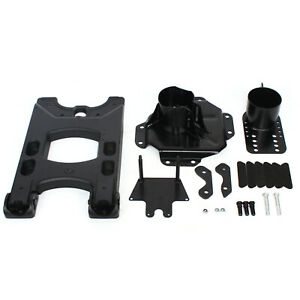 Heavy duty Hd Hinged Carrier Spare Tire Mounting Kit For 07 18 Wrangler Jk