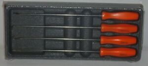 New Snap on Pick Set Long Shaft Asal204bo orange Hard Handles New Sealed