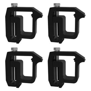 4xmounting Clamps Truck Cap Camper Shell For Chevy Silverado Sierra 1500 2500
