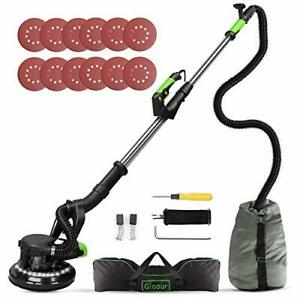 Drywall Sander 6a 7 Variable Speed 1000 1800rpm Wall Sander With Vacuum Green