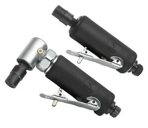 Atd 2122 1 4 Right Angle Air Die Grinder W Free 1 4 Mini Straight Grinder