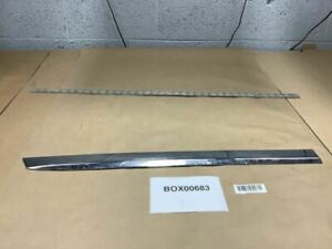 2007 Chrysler Aspen Rear Right Passenger Side Door Molding Moulding Chrome Oem
