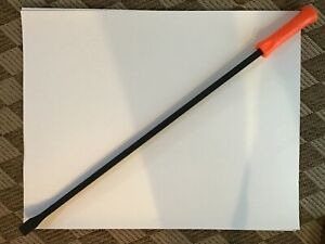 new Snap On 36 Long Curved Tip Striking Pry Bar W orange Handle spbs36a
