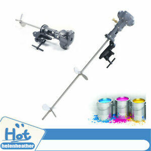 1 2 Hp Pneumatic 200l Paint Mixer Air Agitator Blender Stirrer Ink Mixing Machin