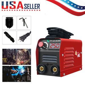 110v Mini Electric Welding Machine Igbt Dc Inverter Arc Mma Stick Weld er M1i7