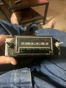 Gm Delco Am Radio Model 7933641 Camaro Chevelle Nova El Camino Radio Untested