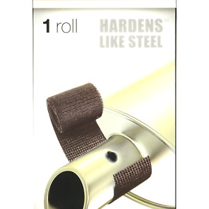 Fiberfix Heat Wrap Hardens Like Steel For Exhaust Pipes And High Temp Repai