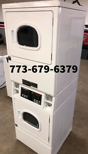 Speed Queen Commercial Stack Gas Dryer Coin Operated 2019