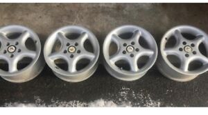 4 American Racing Wheels Rims 5x100 5 Spoke 15 X 6 Dodge Neon Vw Subaru