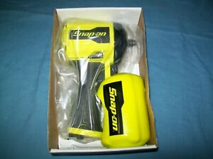 New Snap On 3 8 Drive Super Duty Stubby Air Impact Wrench Pt338hv Open Box