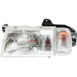 New Head Lamp Assembly Left Fits 1990 1997 Geo Tracker 30020200 30000155