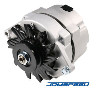 Alternator High Output 105amp 1 Wire 10si Self Exciting For Sbc Bbc Gm Adr0151