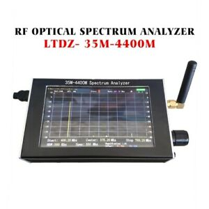 Usb 35 4400m Rf Optical Spectrum Analyzer With Tracking Source Module lcd case