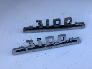 Vintage Emblems For 3100 Series Of 1953 Chevy Truck
