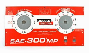 Lincoln Sae 300 Mp Upper Faceplate Bw3263