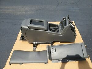 2003 2007 Silverado Sierra Avalanche Center Console Glovebox Black Charcoal