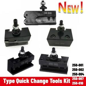 Type Quick Change Tools Kit Tool Post Tool Holder For Metalworking Lathes Tools
