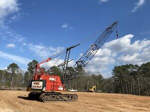 Link Belt Ls 118 60t Crawler Crane For Sale Working Daily Texas Financing Ship