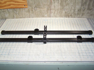 Thule 32 Roof Rack Load Bars 32 Inch Set Of 2 Square Bars W end Caps Extras