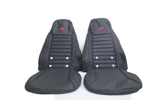 Datsun 240z 260z 280z 1970 1978 Synthetic Leather Seat Covers In Black Color
