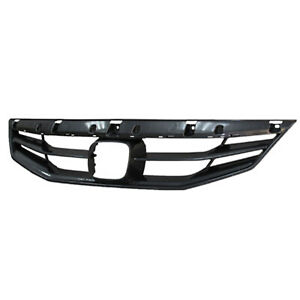 Replacement Upper Grille For 2011 2012 Honda Accord 2 Door Coupe New