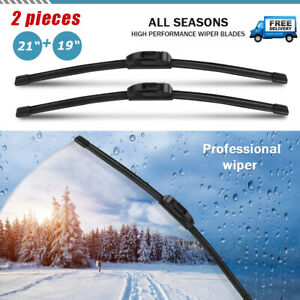 21 19 J hook Wiper Blades For Toyota Camry 2001 2000 1999 1998 1997 1996 1992