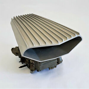 Air Scoop Finned Scott Super Slot Mad Max Holley Rochester 4 Barrel Carb Each