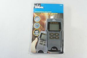 Ideal 33 856 Vdv Multimedia Cable Tester new Open Box Free 2 3 Day Ship