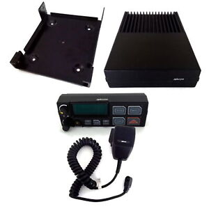 Ge Orion M a com Ericsson Radio With Control Head Microphone Mounting Bracket