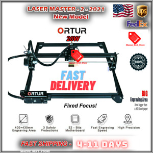 Ortur Laser Master 2 20w Engraving Cutting Machine Large Work Area New Model