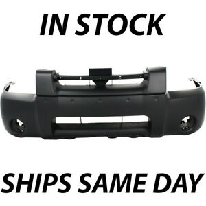 New Primered Front Bumper Cover Replacement For 2001 2004 Nissan Frontier Pickup