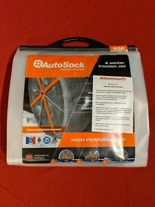 Autosock 698 Size 698 Tire Chain Alternative Winter Weather Traction Brand New