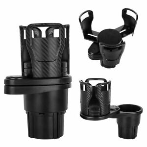 Universal 2in1 Multifunction Cup Holders Drink Bottle 360 adjustable For Car