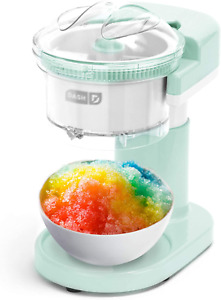 Ice Shaver Machine Snow Cone Maker Shaved Icee Electric Crusher