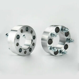 2pcs 2 Wheel Spacers Adapters 5x4 5 For Jeep Wrangler Ford Mustang Ranger Edge