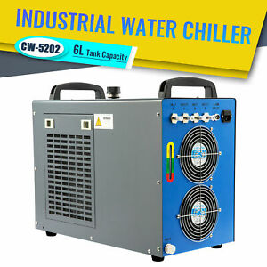 Industrial Water Chiller Cw 5202 For 60 150w Co2 Laser Engraver Cutter Machines