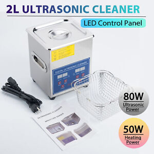 Preenex Stainless Steel 2l Industry Heated Ultrasonic Cleaner Heater Timer
