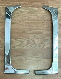 1955 Mercury Monterrey 2 Door Hardtop Front Windshield Trim Pair