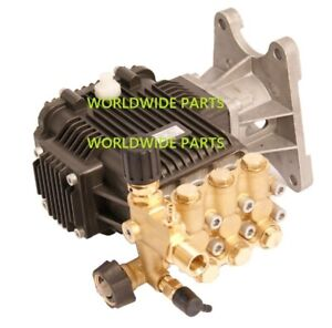 Pressure Washer Pump 4000psi 4gpm 1 Horizontal Shaft Fits Replaces Ar Rrv4g40