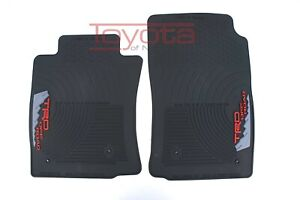 Trd 2005 2011 Toyota Tacoma All Weather Front Floor Mats Pt908 350rw 02 Oem