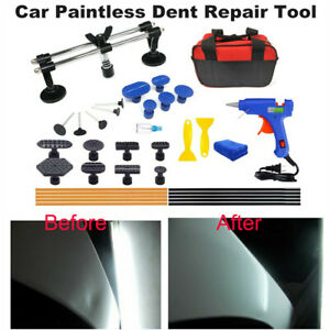 Car Paintless Dent Repair Auto Body Dent Puller Lifter Tools Hail Removal Kit