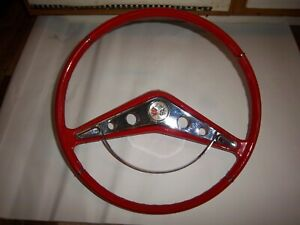 1959 1960 Chevy Impala Sedan Elcamino Steering Wheel Driver Amateur Restoration