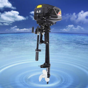 Electric Outboard Motor 48v 5hp 1200w Fishing aquaculture Boat Engine Propeller