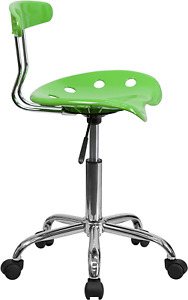 New Adjustable Work Shop Stool Chair Swivel Bench Mechanics Garage Seat Rolling