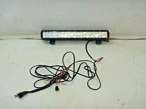 Jeep Aftermarket 20 Double Row Led Light Bar With Wiring And Switch