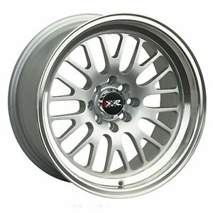 Xxr 531 16x8 4 100 4 4 5 20 Offset 73 1mm Bore Hyper Silver Ml Wheel Rim