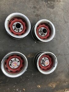 Chevy 6 Bolt 15 X 8 Rally Wheels Oem Chevrolet Gmc Lug 4x4 Truck Gm