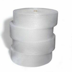 1 2 Large Bubble Cushioning Wrap Padding Roll 1x125 x 12 Wide Perf 12 125 ft