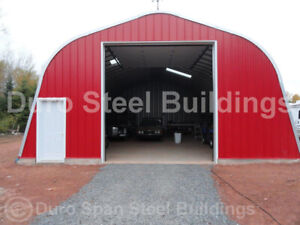 Durospan Steel 25 x50 x14 Metal Building Diy Home Shed Open Ends Factory Direct